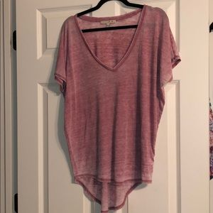 Express oversized knit T-shirt